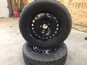 Ford Fusion Winter tires and rims