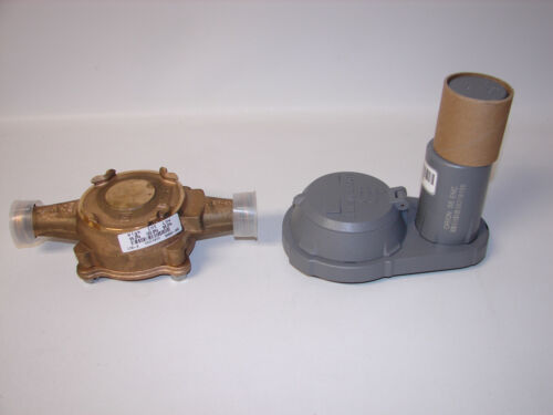 """NEW Badger Water Meter Orion Fixed Network SE ENC 5/8"""" Bronze"""