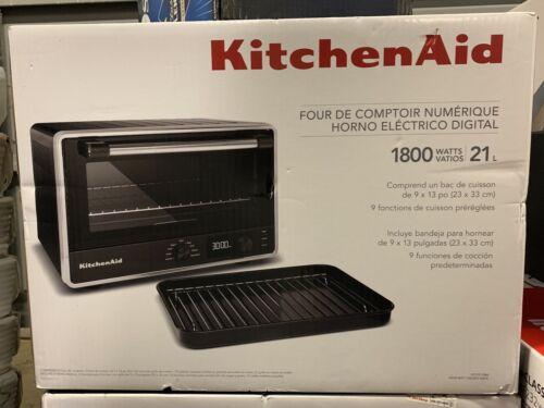 KitchenAid Digital Countertop Toaster Oven KCO211BM Black