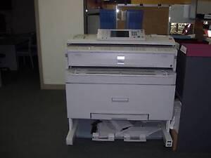 Ricoh Aficio MP W2400/MP W3600 Wide Format printer Hobart CBD Hobart City Preview