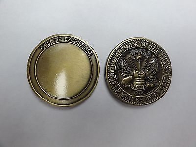 Challenge Coin Department Of The Army United States Engraveable