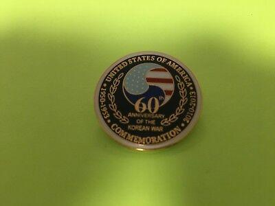 KOREAN WAR 60TH ANNIVERSARY PIN