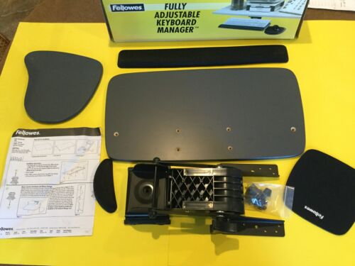 Fellowes Fully Adjustable Keyboard Manager Free Shipping!