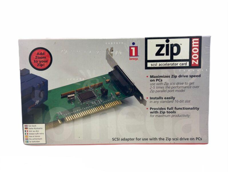 iomega ZIP Zoom SCSI Accelerator Card Adapter