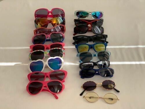 Lot of 16 Sunglasses kids baby