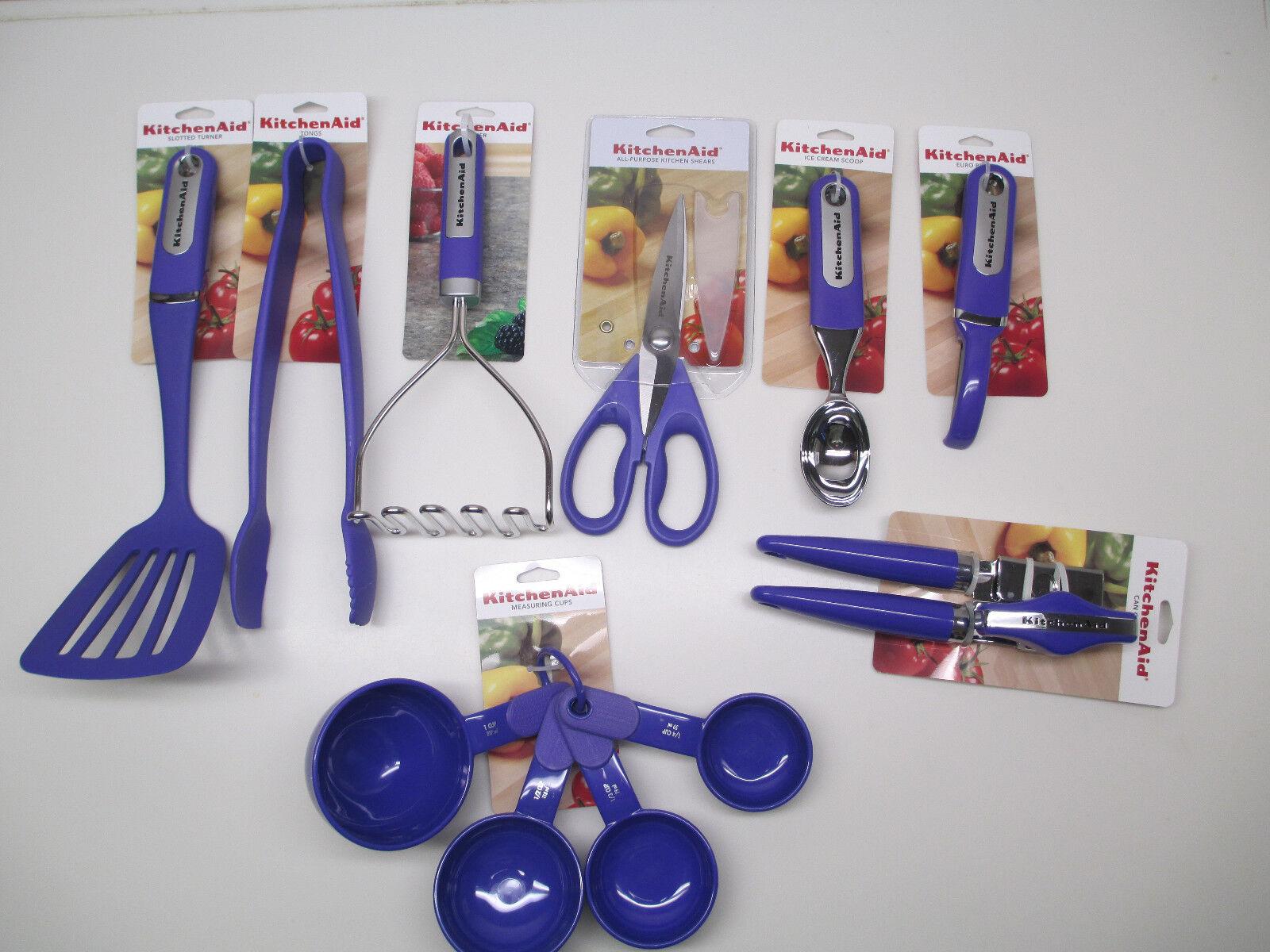 KitchenAid orchid light purple / lilac  kitchen utensils