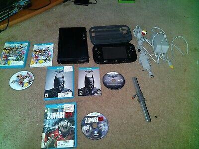 Nintendo Wii U 32GB Console Bundle 3 games av cable no HDMI cable
