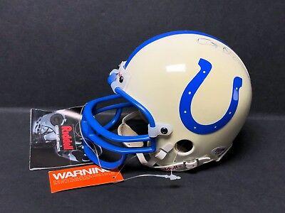 Art Donovan Signed Baltimore Colts Mini-Helmet *2x NFL Champ *HOF PSA C09219 Art Donovan Signed Baltimore Colts