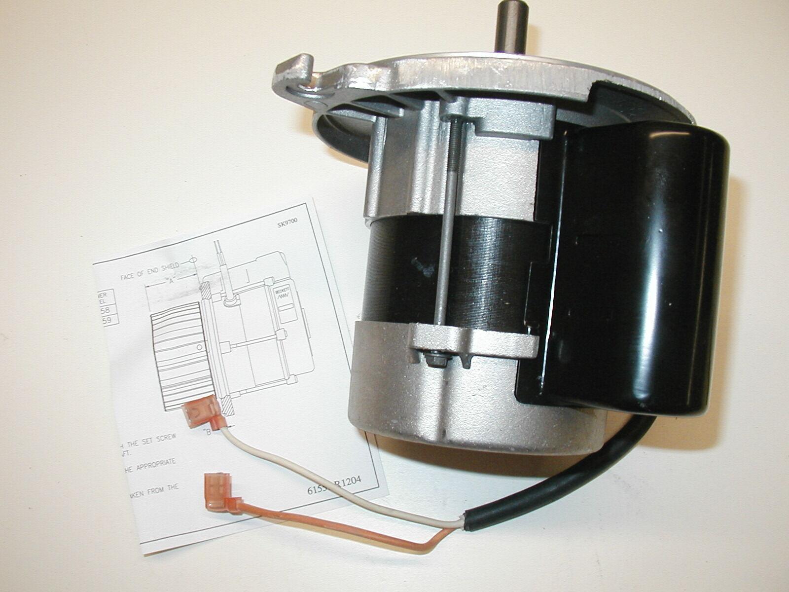 Beckett 21805u 1 7 Oil Burner Motor Repair Ball Bearings