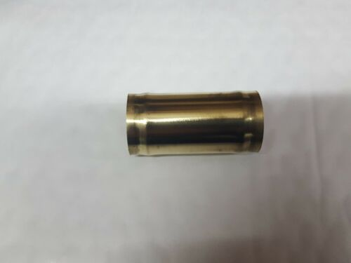 25 mm OD Brass Radiator Hose Connector Joiner 60 mm Long