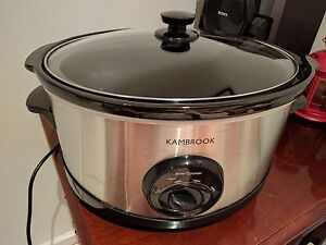 Slow cooker kambrook Deakin South Canberra Preview