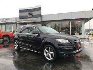 2011 Audi Q7 3.0T Super Charged Sport S-LINE Navigation  7-Pass
