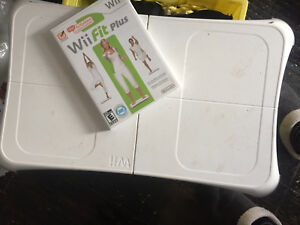 Wii fit, balance board, and Wii Active w/ nunchuk