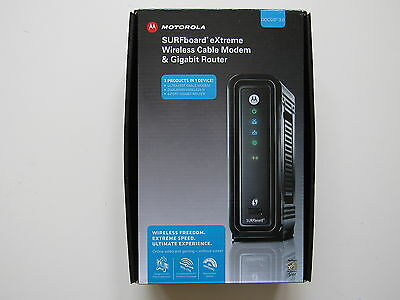 Motorola Surfboard SBG6580 Cable Modem Wifi Router DOCSIS 3.0 Dual Band