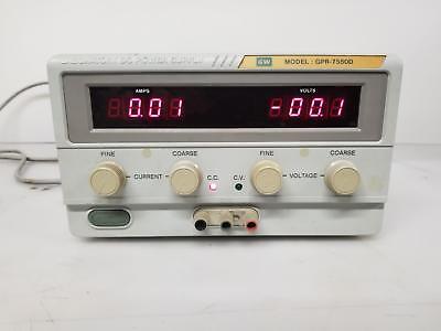 Gw Instek Gpr-7550d Dc Power Supply