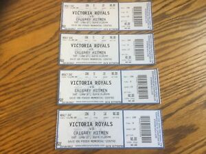 Royals Hockey Tickets...great Christmas gifts...$10.00 each