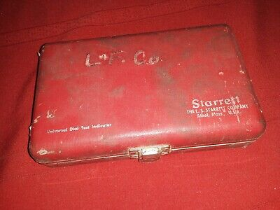 Vintage Starrett Universal Dial Test Indicator 196