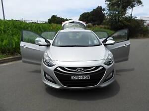 2014 Hyundai i30 trophy hatch leather seats auto low ks Haberfield Ashfield Area Preview