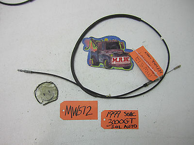 3000GT KEY LOCK CYLINDER IGNITION SWITCH CABLE PARK SHIFT SHIFTER CABEL COLUMN