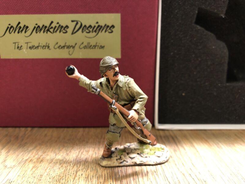 John Jenkins: Boxed Set GLT-14 - Turk Throwing Grenade. Gallipoli, 1915. MIB