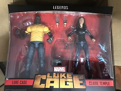 "Marvel Legends LUKE CAGE & CLAIRE TEMPLE 6"" Figure 2-Pack  Exclusive  In Stock"
