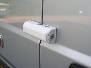 Milenco High Security Van Door Dead Lock Exterior Rear Side Sliding Single