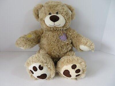 Build A Bear Workshop Patches Teddy Bear Light Brown  7286