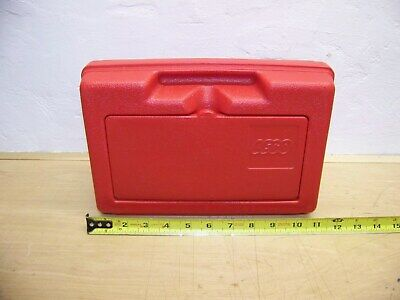 Lego red storage sm. case container