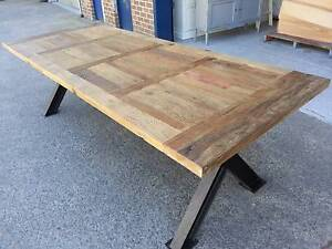 recycled timber table top dining tables gumtree australia free