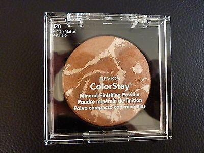Revlon ColorStay Mineral Finishing Powder -SUNTAN MATTE #020- Brand New / Sealed ()
