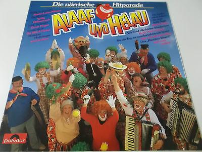 39239 - ALAAF UND HELAU (DIE NÄRRISCHE HITPARADE) - VINYL LP (TRUDE HERR NIKUTA)