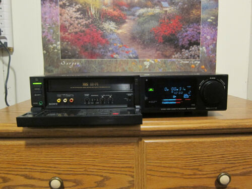 Sony SLV-575UC Pro 4 Head stereo hi-fi with remote
