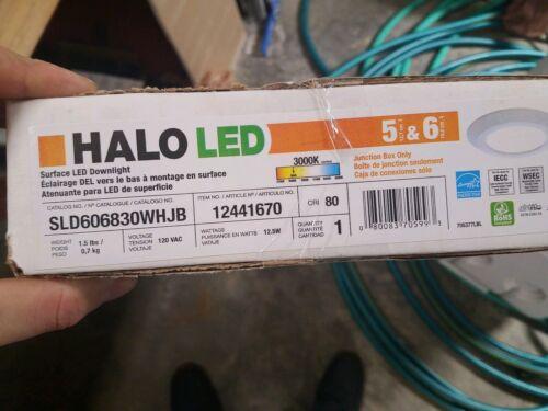 Halo SLD606830WHJB 6 Inch SLD-600 Series LED Retrofit Down Light 120 Volt 80 CRI - $25.00