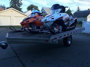 2008 Arctic cat M8 & 2006 Arctic cat F7 TRAILER NOT FOR SALE !