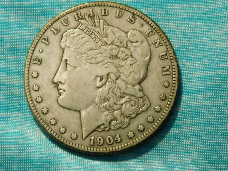 1904 S Morgan Silver Dollar~