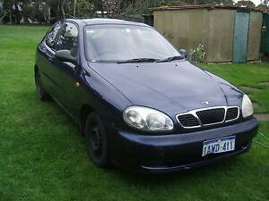 2001 Daewoo Lanos Hatchback Narre Warren South Casey Area Preview