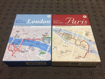City walks Paris and London - 50 adventures on foot