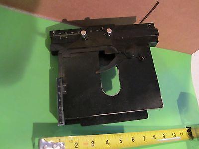 Olympus Japan Bh Stage Micrometer Optics Microscope Part As Is Bink5