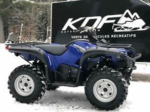2015 Yamaha Grizzly 700 EPS :: financement à 44.48$/Semaines