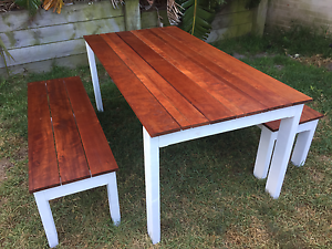 Brand New OutDoor Timber Table w/ Benches Malabar Eastern Suburbs Preview