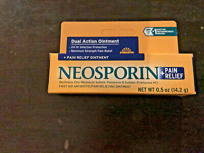 Strength First Aid Antibiotic Ointment - Neosporin Plus Pain Relief Maximum Strength First Aid Antibiotic Ointment CHOOSE