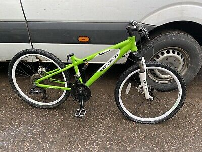 CARRERA MOUNTAIN BIKE WITH 24 INCH WHEELS AS ACQUIRED SPARES REPAIR