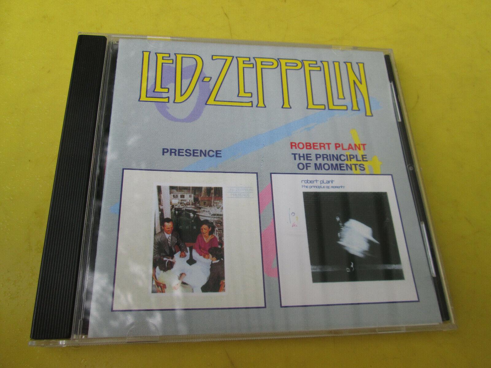RARE Led Zeppelin Robert Plant Presence Principle Of Moments Import CD Maximum - $59.99