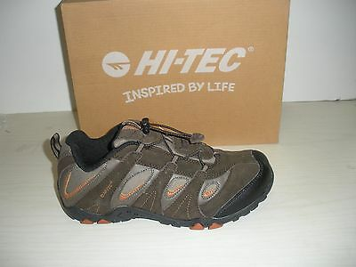 Hi Tec Palo Alto Ez Jr Hiking Shoes Shoes  Sneakers  31057  Chocolate  6  6 5  7