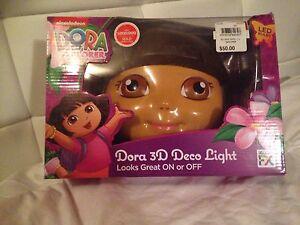 Nickelodeon Dora The Explorer 3D Deco Light Brand New Wantirna Knox Area Preview