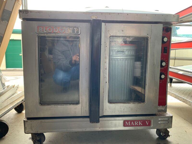 Electric Convection Oven Single Stack Full Sheet NSF Blodgett MARK V 111