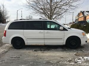 Dodge 2010 Caravan for sale + 4 winter tires with rim