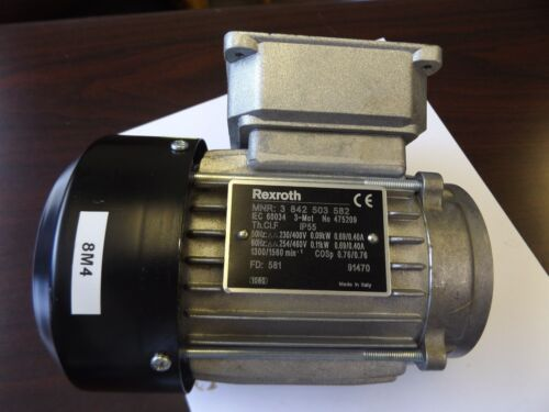 WHOLESALE LIQUIDATION REXROTH DRIVE MOTOR 3 842 503 582