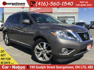 2014 Nissan Pathfinder Platinum | NAVI | 360 CAM | LEATHER | AWD