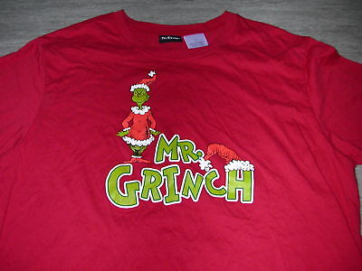 MR. GRINCH Dr. Seuss t-shirt size L~Ugly Christmas~Mean One Halloween~How Stole - Dr Seuss Grinch Halloween